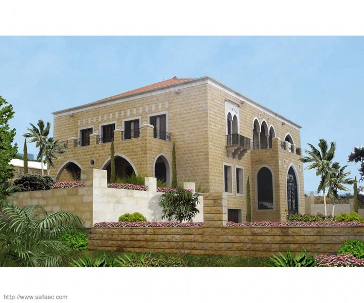 Latest projects design construction villa badrane for Modern house lebanon